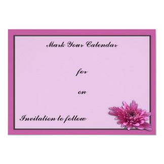 Deep Pink Daisy Card