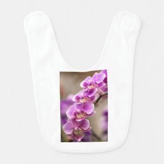 Deep Pink Phalaenopsis Orchid Flower Chain Bib