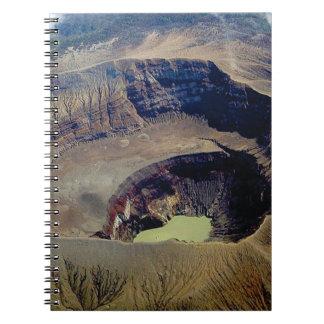 deep pond water spiral notebook