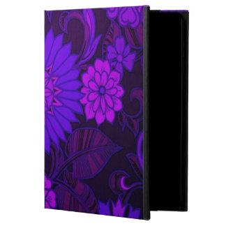 Deep Purple Art Deco Design Case For iPad Air