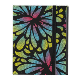 Deep Purple Art Deco Design iPad Cover