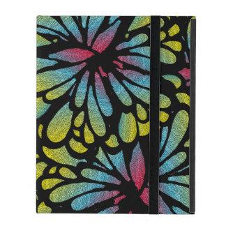 Deep Purple Art Deco Design iPad Folio Case