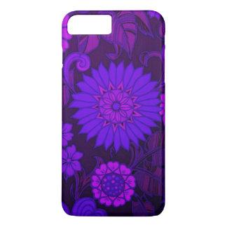 Deep Purple Art Deco Design iPhone 7 Plus Case