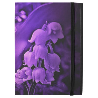 "Deep purple dream of lily of the valley iPad pro 12.9"" case"