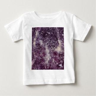 Deep Purple Quartz Crystal Baby T-Shirt