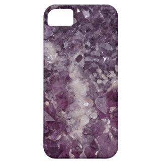 Deep Purple Quartz Crystal iPhone 5 Cases