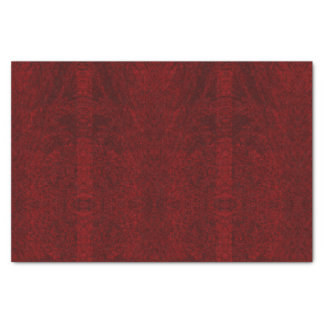 Deep Red - Designer Tissue Paper