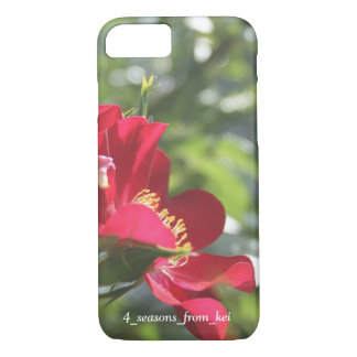 Deep-red rose* iPhone 8/7 case