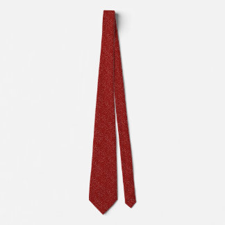 Deep Red Speckle Tie