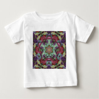 Deep Rich Fall Color 3d Star Baby T-Shirt