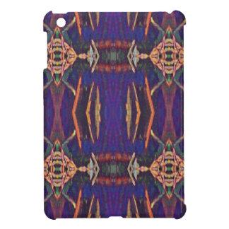 Deep Rich Purple Tribal Pattern iPad Mini Case