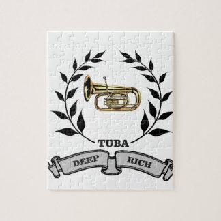 deep rich tuba puzzles