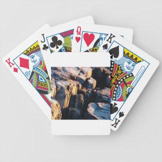 deep rock crevice bicycle playing cards