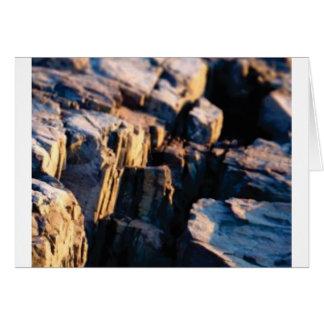 deep rock crevice card