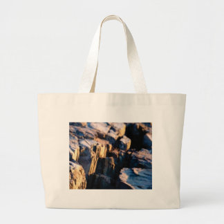deep rock crevice large tote bag