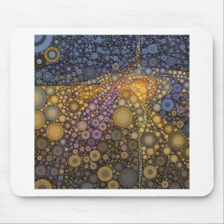 Deep Roots Abstract Mouse Pad