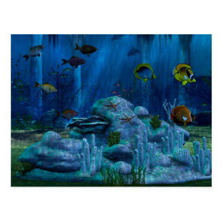 Deep Sea 3D Digital Postcard
