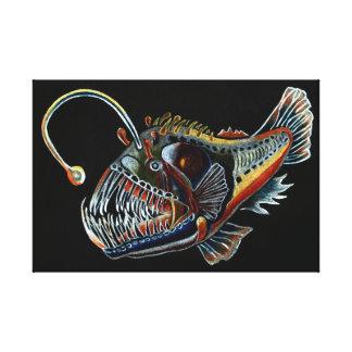 Deep Sea Angler Fish canvas print