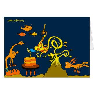 Deep Sea Birthday 5x7.jpg Card