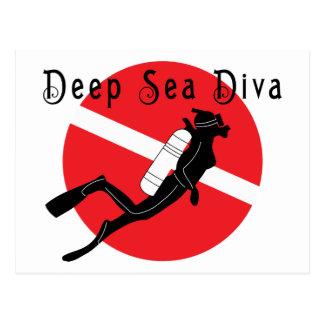 Deep Sea Diva Postcard