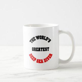 Deep Sea Diver Coffee Mug