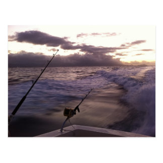 Deep Sea Fishing Postcard