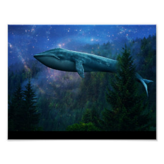 Deep Sea Forest Poster