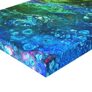 Deep Sea Galaxy Canvas Print