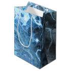 Deep Sea Inspired Underwater Fractal Style Design Medium Gift Bag