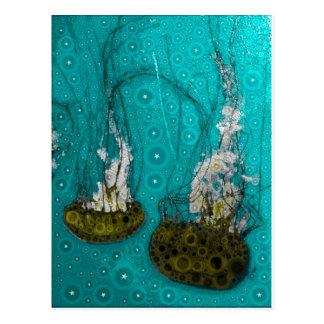 Deep Sea Jellies Postcard