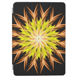 Deep Sea Life Form Mandala iPad Air Cover