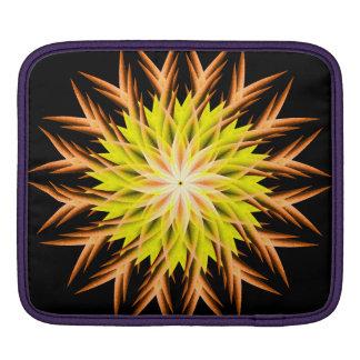 Deep Sea Life Form Mandala iPad Sleeve