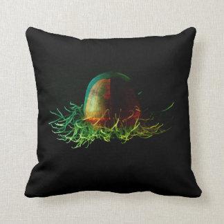 Deep sea medusa pillow