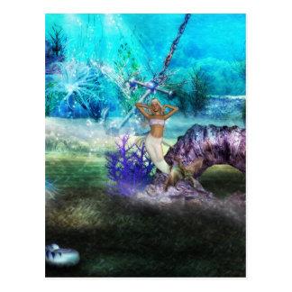 Deep Sea Mermaid Postcard