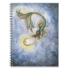 Deep Sea Moon Mermaid Notebook