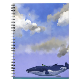 Deep Sea Normal Spiral Note Books