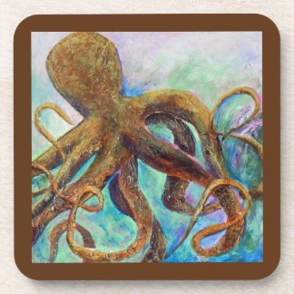 Deep Sea Octopus Coasters Set