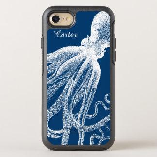 Deep Sea Octopus Tentacles Vintage Funny Look OtterBox Symmetry iPhone 8/7 Case