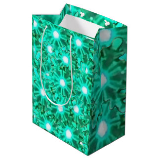 Deep Sea Snowflakes Medium Gift Bag