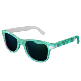 Deep Sea Snowflakes Sunglasses