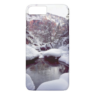 Deep snow at Middle Emerald Pools iPhone 7 Plus Case