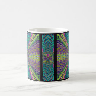 Deep Sound Crochet Look Coffee Mug