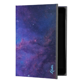 "Deep Space Abstract Background Purple & Blue iPad Pro 9.7"" Case"