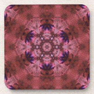 Deep Space Harmonics Mandala Drink Coasters