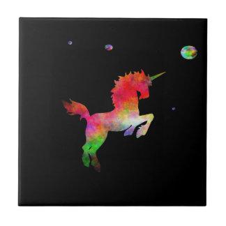 Deep Space Multi-hued Unicorn Tile