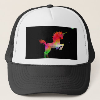 Deep Space Multi-hued Unicorn Trucker Hat