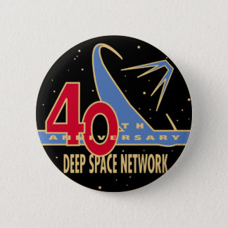 DEEP SPACE NETWORK 40th Anniversary 2 Inch Round Button