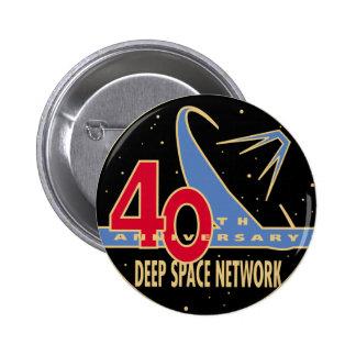 DEEP SPACE NETWORK 40th Anniversary 2 Inch Round Button