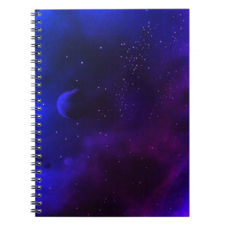 Deep Space Spiral Notebook