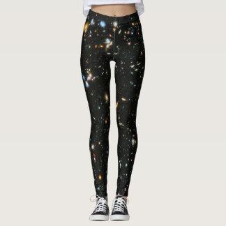 Deep Space Stars and Galaxies Leggings